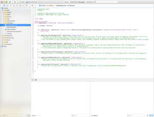 Friends MVVM project in Xcode