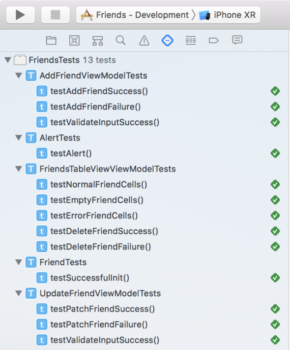Unit testing RxSwift application with XCTest framework